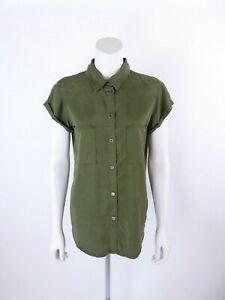 Paige Size M Military Style Mila Blouse Top BNWTS RRP £230
