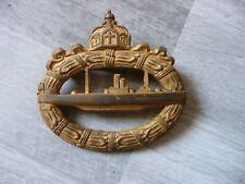 Alter Orden : U-Boot Abzeichen 1918 !!!! Selten !!! Hersteller Schott