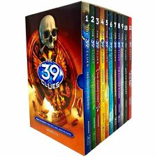 The 39 Clues Series Complete Collection Books 1 - 11 Box Set by Rick Riordan NEW