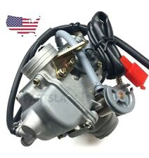 24mm Pd24J Carb Carburetor For Gy6 150Cc 125cc Scooters Motorcycles Complete