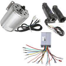 48V 1800W Electric Brushless Motor+Controller +Throttle Grip For ATV Bike Buggy