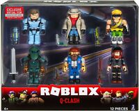 Roblox Action Collection - Q-Clash 6 Figure Pack NEW