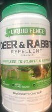 New Liquid Fence HG-80266 Deer and Rabbit Repellent Granules, 2-Pound