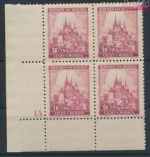 Bohemen en Moravië 28 met Nummerplaat postfris MNH 1939 Praag (9310341