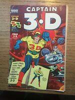 CAPTAIN 3-D #1, Dec. 1953 IN PLASTIC COVER