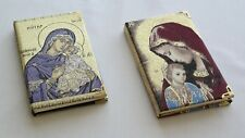 Christian Icon Portable Pocket Diary Notebook Memo Charming Mini Paper -2 pieces