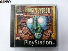 BROKEN SWORD II 2 La Profezia dei Maya Sony Playstation Psx Ps1 Pal Italiano Rar
