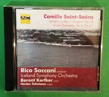 CD - Saint-Saens - Symphony No 3 (Organ) - Violin Concerto No 3-Iceland Symphony