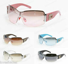 Wholesale Dozen Women Big Oversized Sunglasses Wrap Fashion New DG Eyewear 857