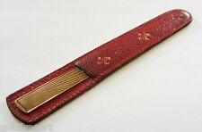 Vintage...14K Yellow Gold Nail File.... Made By: Marchal Jewellers of NEW YORK !