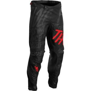 Thor Pulse Counting Sheep Black/Red Motocross MX Dirt Bike Riding Adult Sizes