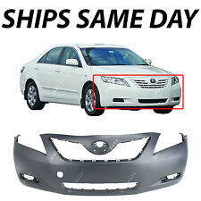 NEW Primered - Front Bumper Cover Fascia for 2007 2008 2009 Toyota Camry 07-09