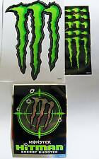 Monster Hitman Sticker + large claw & 5 small monster claws for lot of seven