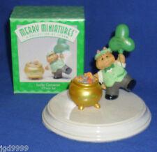Hallmark St. Patrick's Day Merry Miniatures Lucky Cameron 1996 Leprechaun Cat