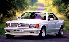 1987 Mercedes Benz AMG 500SEC W126 Factory Photo c2780-FJV4WK