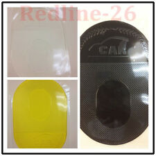 Large Anti-Slip Dashboard Sticky Pad Phone Non-Slip Mat - Clear+Yellow+Black