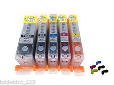 Refillable ink cartridges for Canon PGI-250 CLI-251 PIXMA MG5420 5422 5520 MX722