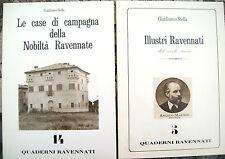 1987 LOTTO LIBRETTI GIANFRANCO STELLA 'CASE DI CAMPAGNA' e 'ILLUSTRI RAVENNATI'