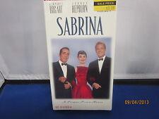 SABRINA Humphrey Bogart Audrey Hepburn VHS *NEW SEALED NBO*Fast Shipping+Trackin
