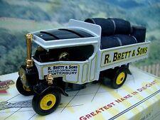 Matchbox  collectibles  #YAS12 1922 Foden Steam Wagon R Brett & Sons