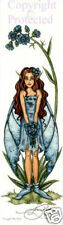 Amy Brown Bookmark Fairy Forget Me Not Garden Flower