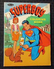 1967 SUPERBOY Coloring Book VG 4.0 WHitman