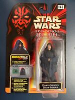 Stars Wars Episode 1 Darth Sidious Dark Sidious CommTalk Chip Italian Figure