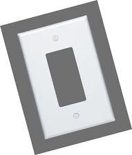 Leviton 88601 1-Gang Decora/Gfci Device, Wallplate, Oversized, Thermoset, Dev.