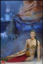1/6 Princess Leia Organa Slave Outfit USA Star Wars Toys Hot Skywalker Vader
