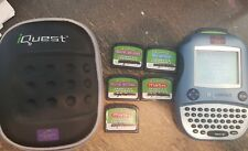 iQuest Handheld Learning System, Games & Case Quantum Leap LeapFrog Grades 6-8