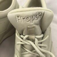 Men's Propet Life Walker (M3704) Walking Shoe Sneaker Size 9.5 M Sport White