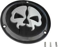 Cover derby split skull 3-hole black - HARLEY DAVIDSON GLIDE ELECTRA CLASSIC ...
