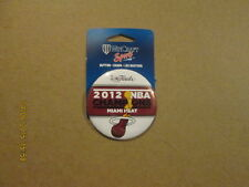 Nba Miami Heat 2012 Nba Champions Logo Pinback Button