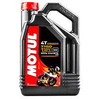 Olio Motore Moto Motul 7100 4T 10W50 10W-50 10W 50 4 litri lt 100% sintetico