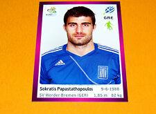 87 PAPASTATHOPOULOS HELLAS GRECE FOOTBALL PANINI UEFA EURO 2012