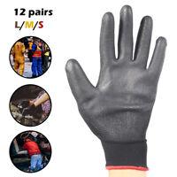 12paires gants travail gants en nylon enduit unité centrale fabricants sécurité