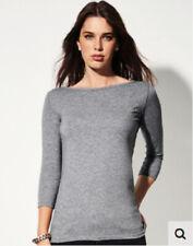 Vestiti da donna t-shirt nera in cotone