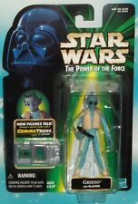 STAR WARS POTF SERIES COMMTECH GREEDO CANTINA ALIEN FIGURE