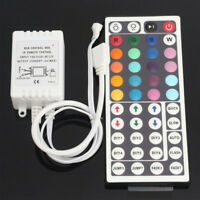 12V 44 Key IR BOX Remote Control Controller For 3528 5050 RGB LED Light Strips