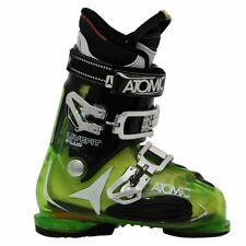 Chaussures de ski occasion Atomic live fit plus vert translucide