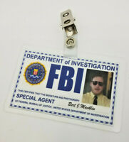 Parks and Recreation ID Badge- Special Agent Burt J Macklin costume prop cosplay