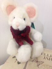 Russ Berrie Mouse 'Tic Toc' Soft Cuddly Toy Small With Tags