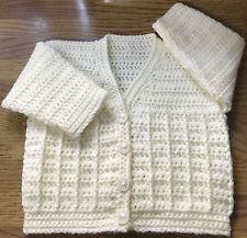 Patrón de ganchillo Cardigan Para Bebé/niño (nacimiento - 6 años) en DK (1015)