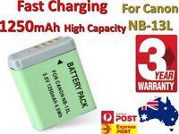 High Capacity Battery for Canon NB-13L,Canon PowerShot G7 X Mark II. G9 X Mark