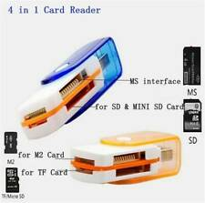 Useful 4 in 1 USB Memory Card Reader for MS MS-PRO TF Micro SD High Speed Hot