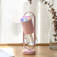 Colorful LED Aroma Diffuser USB Car Home Air Purifier Essential Oil Humidifier