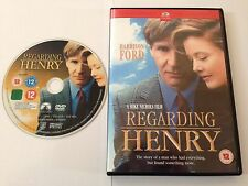REGARDING HENRY DVD - HARRISON FORD - 1991 - UK RELEASE - EXCELLENT CONDITION