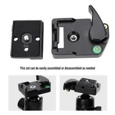 QR-13 Manfrotto 200PL-14 DSLR 323 Quick Release Sliding Plate Clamp Adapter Swit