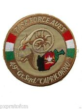 Patch Toppa Task Force Aves 49° Gruppo Capricorno Afghanistan 2008