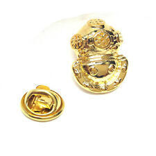 Golden casco para buzos Insignia Pin de Solapa regalos para él